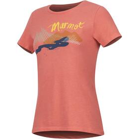 Marmot Esterel Maillot à manches courtes Femme, flamingo heather